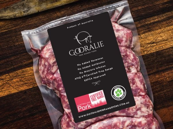 Cleavers Organic Meat Company Packaging Design