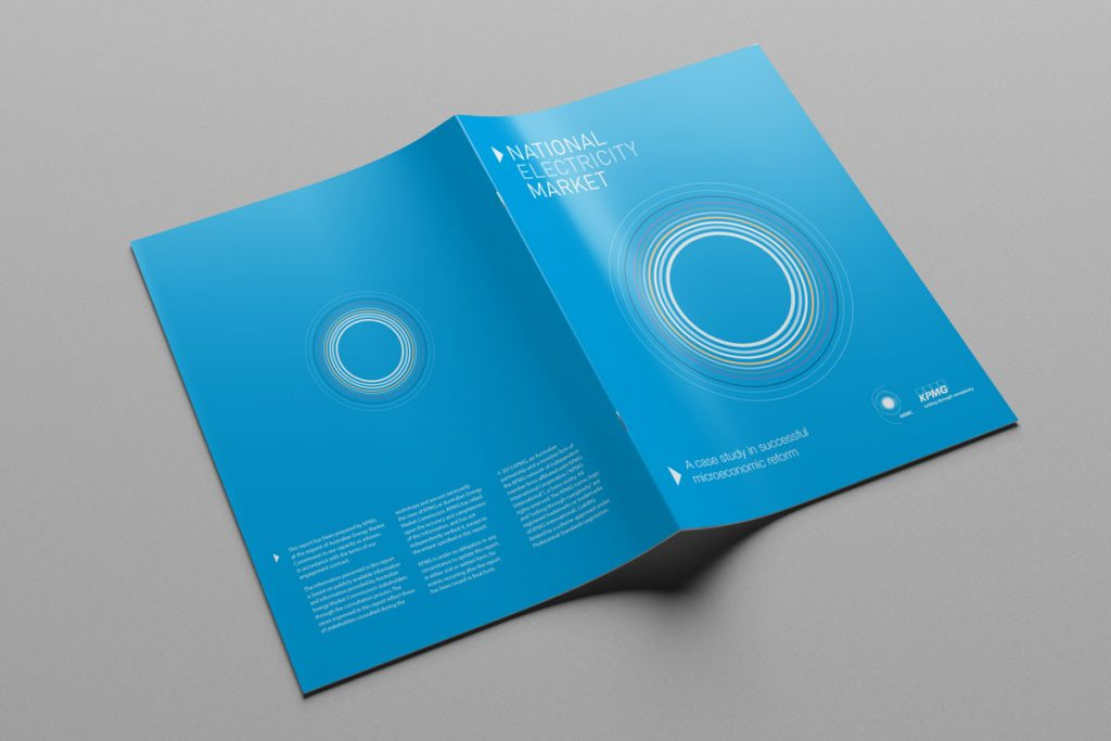 National Electricity Market - Australian Energy Market Commission - Brochure Design - KPMG
