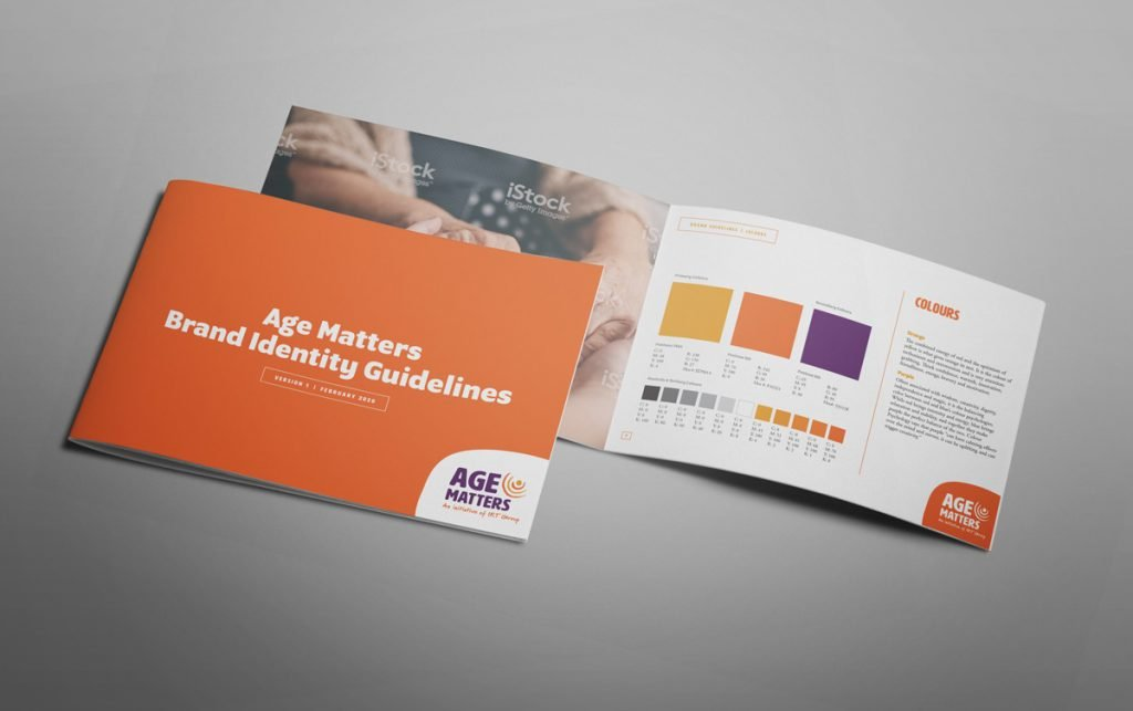 Age Matters Brand Guidelines Style Guide Visual Identity Corporate