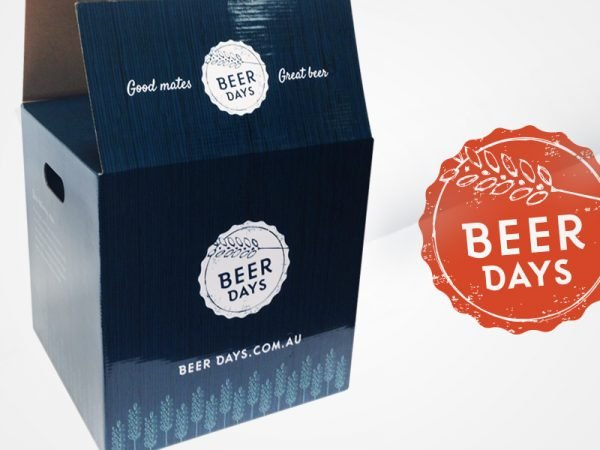 Beer Days Logo and Packaging Design