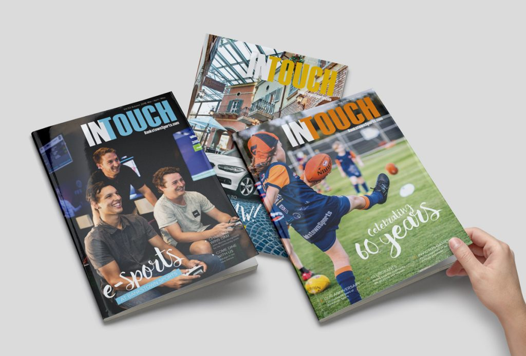 Bankstown Sports Magazine Design