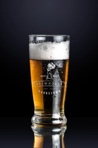 Basement Brewhouse beer glass