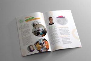 Caring and Living as Neighbours Annual Report Design