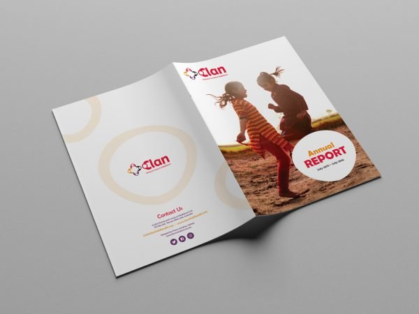 Caring and Living as Neighbours CLAN Annual Report Design