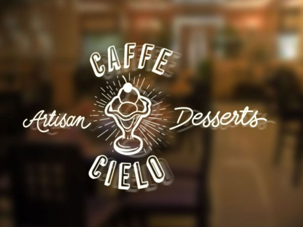 Caffe Cielo Logo Design by Fresco - Sydney