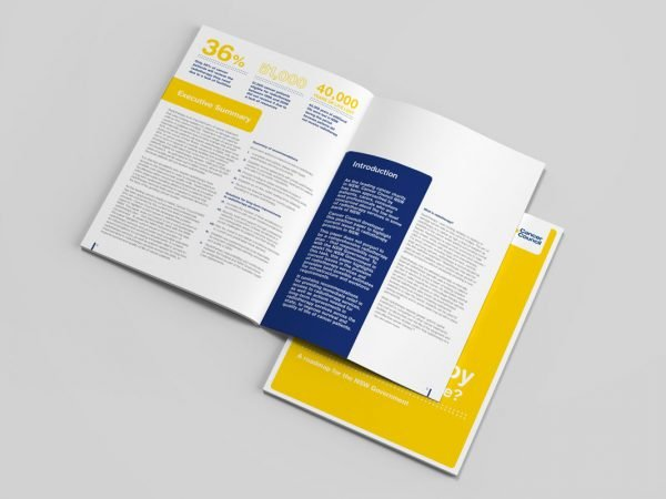 Healthcare Cancer Council Improving Radiotherapy Brochure Information Pack Booklet Graphic Design Publication Patient Handbook