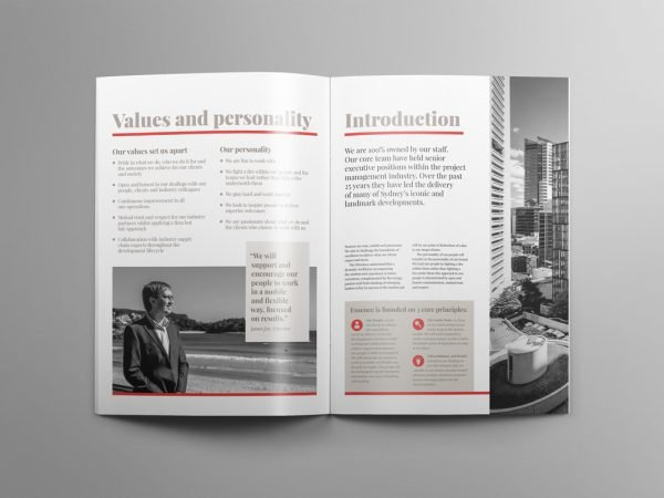 Essence Project Management Capability Document Design Age Matters Brand Guidelines Style Guide Visual Identity Corporate