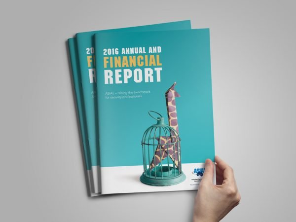 ASIAL Financial Annual Report Design