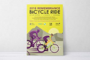 NSW Police Legacy – Remembrance Bicycle Ride Poster 2018