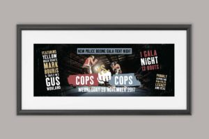 NSW Police Legacy Police Boxing Banner 2017