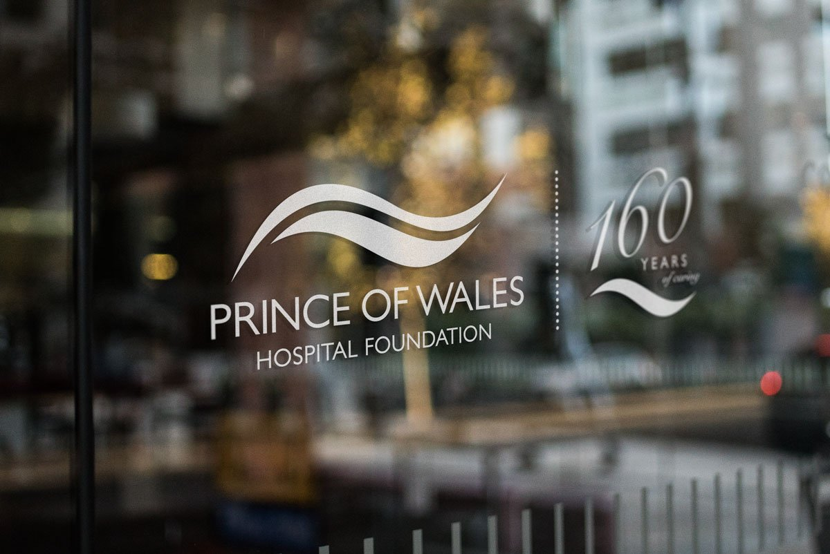 160 years of caring logo Prince of Wales Hospital Foundation