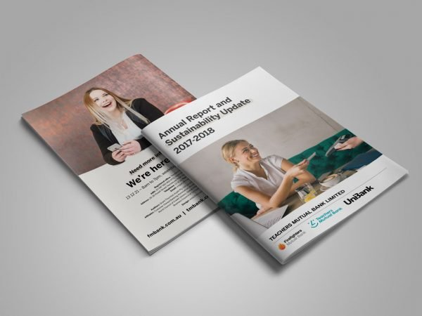 Teachers Mutual Bank Annual Report Design 2017-18 – Fresco Creative