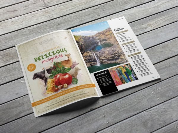 Fresco Creative The Greenhouse of Orange Rex Inflight Magazine Advertising Graphic Design Media Buying