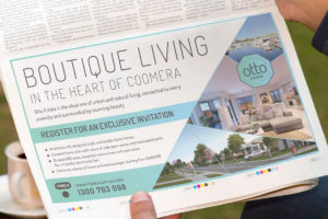 Tribeca - Otto Estate Gold Coast Bulletin Newspaper Ad